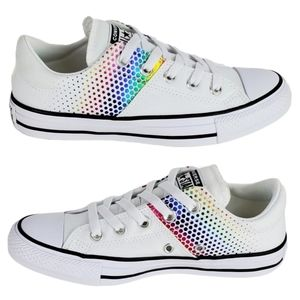 NWT Converse Madison ox low sneakers white multi